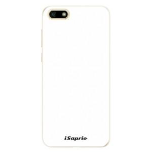 Silikonové pouzdro iSaprio 4Pure bílé na mobil Huawei Y5 2018