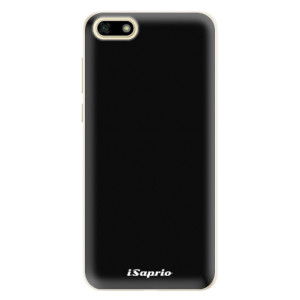 Silikonové pouzdro iSaprio 4Pure černé na mobil Huawei Y5 2018