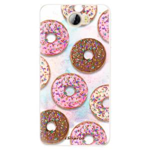 Silikonové pouzdro iSaprio (mléčně zakalené) Donutky Všude 11 na mobil Huawei Y5 II / Y6 II Compact