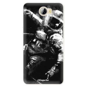 Silikonové pouzdro iSaprio (mléčně zakalené) Astronaut 02 na mobil Huawei Y5 II / Y6 II Compact