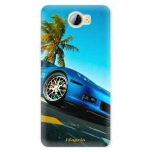 Silikonové pouzdro iSaprio (mléčně zakalené) Kára 10 na mobil Huawei Y5 II / Y6 II Compact