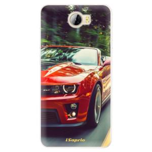 Silikonové pouzdro iSaprio (mléčně zakalené) Chevrolet 02 na mobil Huawei Y5 II / Y6 II Compact