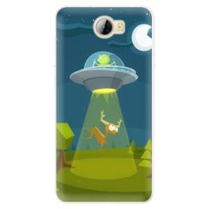 Silikonové pouzdro iSaprio (mléčně zakalené) Ufouni 01 na mobil Huawei Y5 II / Y6 II Compact