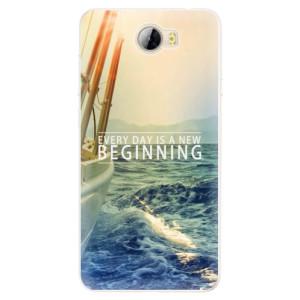 Silikonové pouzdro iSaprio (mléčně zakalené) Beginning na mobil Huawei Y5 II / Y6 II Compact
