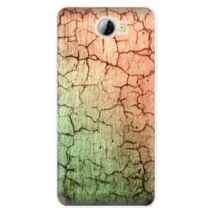 Silikonové pouzdro iSaprio (mléčně zakalené) Rozpraskaná Zeď 01 na mobil Huawei Y5 II / Y6 II Compact
