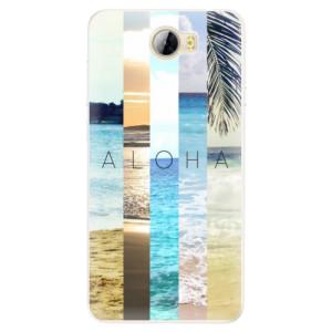 Silikonové pouzdro iSaprio (mléčně zakalené) Aloha 02 na mobil Huawei Y5 II / Y6 II Compact
