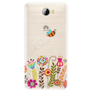 Silikonové pouzdro iSaprio (mléčně zakalené) Včelka Pája 01 na mobil Huawei Y5 II / Y6 II Compact