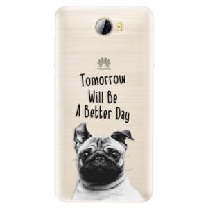 Silikonové pouzdro iSaprio (mléčně zakalené) Better Day 01 na mobil Huawei Y5 II / Y6 II Compact