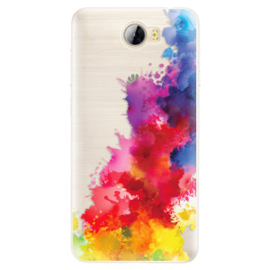Silikonové pouzdro iSaprio (mléčně zakalené) Color Splash 01 na mobil Huawei Y5 II / Y6 II Compact