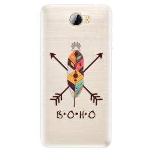 Silikonové pouzdro iSaprio (mléčně zakalené) BOHO na mobil Huawei Y5 II / Y6 II Compact