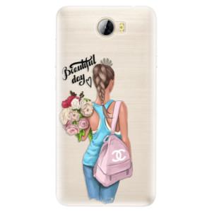 Silikonové pouzdro iSaprio (mléčně zakalené) Beautiful Day na mobil Huawei Y5 II / Y6 II Compact