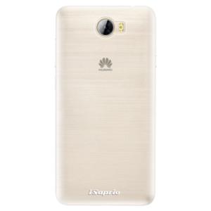 Silikonové pouzdro iSaprio 4Pure mléčné bez potisku na mobil Huawei Y5 II / Y6 II Compact