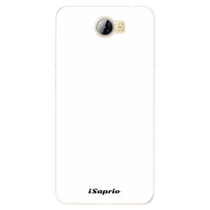 Silikonové pouzdro iSaprio 4Pure bílé na mobil Huawei Y5 II / Y6 II Compact