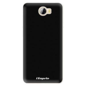 Silikonové pouzdro iSaprio 4Pure černé na mobil Huawei Y5 II / Y6 II Compact