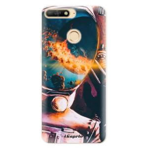 Silikonové pouzdro iSaprio (mléčně zakalené) Astronaut 01 na mobil Huawei Y6 Prime 2018