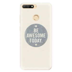 Silikonové pouzdro iSaprio (mléčně zakalené) Awesome 02 na mobil Huawei Y6 Prime 2018