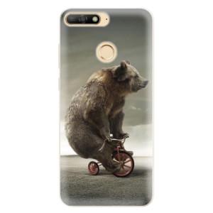 Silikonové pouzdro iSaprio (mléčně zakalené) Medvěd 01 na mobil Huawei Y6 Prime 2018