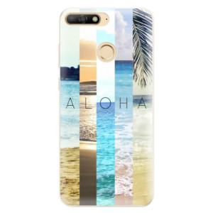 Silikonové pouzdro iSaprio (mléčně zakalené) Aloha 02 na mobil Huawei Y6 Prime 2018