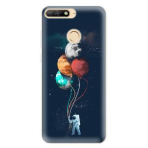 Silikonové pouzdro iSaprio (mléčně zakalené) Balónky 02 na mobil Huawei Y6 Prime 2018