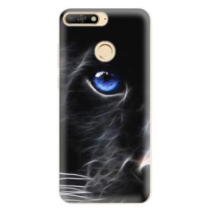 Silikonové pouzdro iSaprio (mléčně zakalené) Black Puma na mobil Huawei Y6 Prime 2018