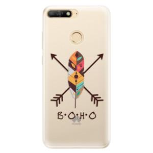 Silikonové pouzdro iSaprio (mléčně zakalené) BOHO na mobil Huawei Y6 Prime 2018