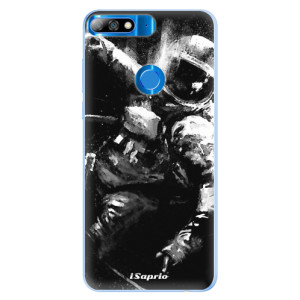 Silikonové pouzdro iSaprio (mléčně zakalené) Astronaut 02 na mobil Huawei Y7 Prime 2018