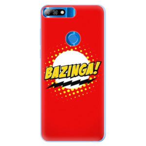 Silikonové pouzdro iSaprio (mléčně zakalené) Bazinga 01 na mobil Huawei Y7 Prime 2018