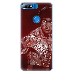 Silikonové pouzdro iSaprio (mléčně zakalené) Bruce Lee na mobil Huawei Y7 Prime 2018