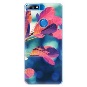 Silikonové pouzdro iSaprio (mléčně zakalené) Podzim 01 na mobil Huawei Y7 Prime 2018
