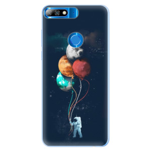 Silikonové pouzdro iSaprio (mléčně zakalené) Balónky 02 na mobil Huawei Y7 Prime 2018
