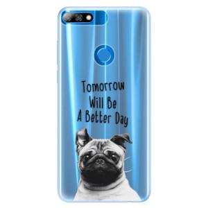 Silikonové pouzdro iSaprio (mléčně zakalené) Better Day 01 na mobil Huawei Y7 Prime 2018