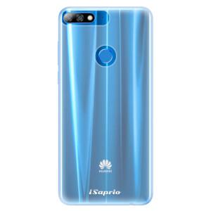 Silikonové pouzdro iSaprio 4Pure mléčné bez potisku na mobil Huawei Y7 Prime 2018