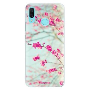 Silikonové pouzdro iSaprio (mléčně zakalené) Blossom 01 na mobil Huawei Nova 3