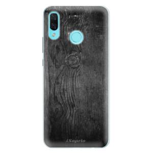 Silikonové pouzdro iSaprio (mléčně zakalené) Black Wood 13 na mobil Huawei Nova 3