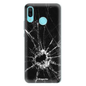 Silikonové pouzdro iSaprio (mléčně zakalené) Broken Glass 10 na mobil Huawei Nova 3