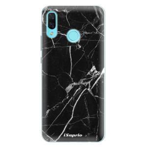 Silikonové pouzdro iSaprio (mléčně zakalené) Black Marble 18 na mobil Huawei Nova 3