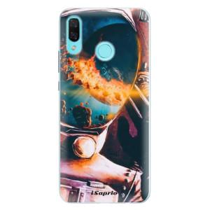 Silikonové pouzdro iSaprio (mléčně zakalené) Astronaut 01 na mobil Huawei Nova 3