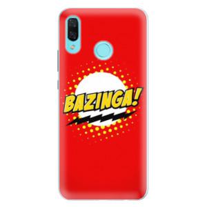 Silikonové pouzdro iSaprio (mléčně zakalené) Bazinga 01 na mobil Huawei Nova 3