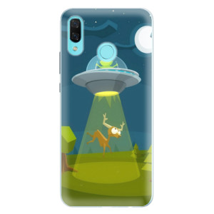 Silikonové pouzdro iSaprio (mléčně zakalené) Ufouni 01 na mobil Huawei Nova 3