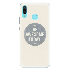 Silikonové pouzdro iSaprio (mléčně zakalené) Awesome 02 na mobil Huawei Nova 3