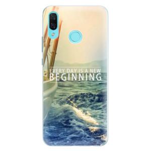Silikonové pouzdro iSaprio (mléčně zakalené) Beginning na mobil Huawei Nova 3