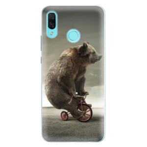 Silikonové pouzdro iSaprio (mléčně zakalené) Medvěd 01 na mobil Huawei Nova 3