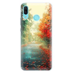 Silikonové pouzdro iSaprio (mléčně zakalené) Podzim 03 na mobil Huawei Nova 3