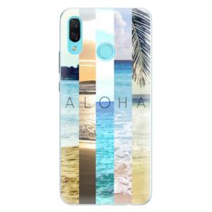 Silikonové pouzdro iSaprio (mléčně zakalené) Aloha 02 na mobil Huawei Nova 3