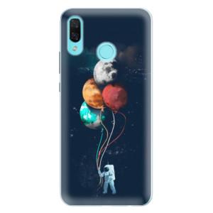Silikonové pouzdro iSaprio (mléčně zakalené) Balónky 02 na mobil Huawei Nova 3