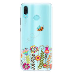 Silikonové pouzdro iSaprio (mléčně zakalené) Včelka Pája 01 na mobil Huawei Nova 3