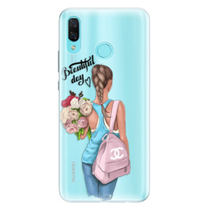 Silikonové pouzdro iSaprio (mléčně zakalené) Beautiful Day na mobil Huawei Nova 3