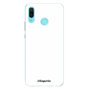 Silikonové pouzdro iSaprio 4Pure bílé na mobil Huawei Nova 3