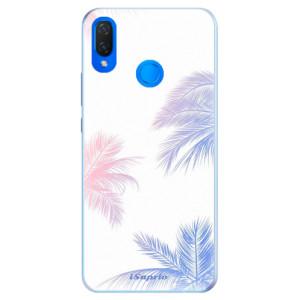 Silikonové pouzdro iSaprio (mléčně zakalené) Palmy 10 na mobil Huawei Nova 3i