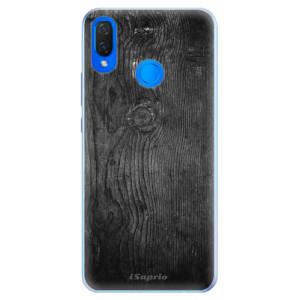 Silikonové pouzdro iSaprio (mléčně zakalené) Black Wood 13 na mobil Huawei Nova 3i